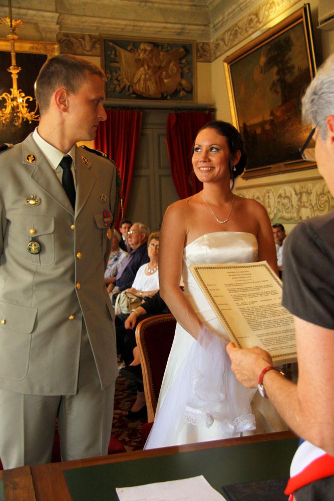 Photographe mariage Montauban - Pendant la cérémonie