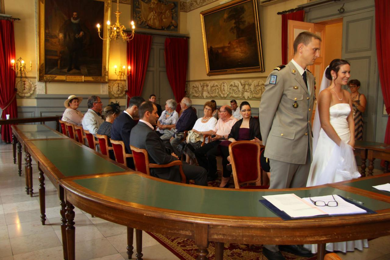 Photographe mariage Montauban - Vue d'ensemble de la cérémonie