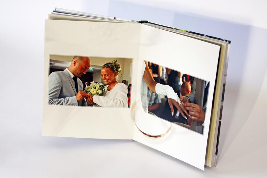Livre de mariage, les alliances