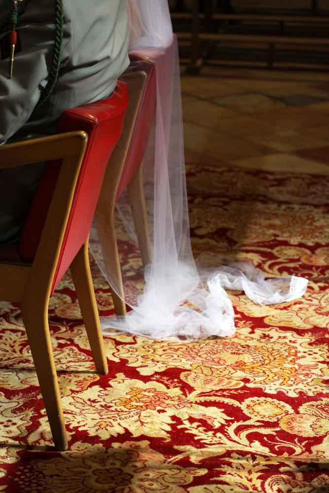 Photographe mariage Montauban - Détail de la robe