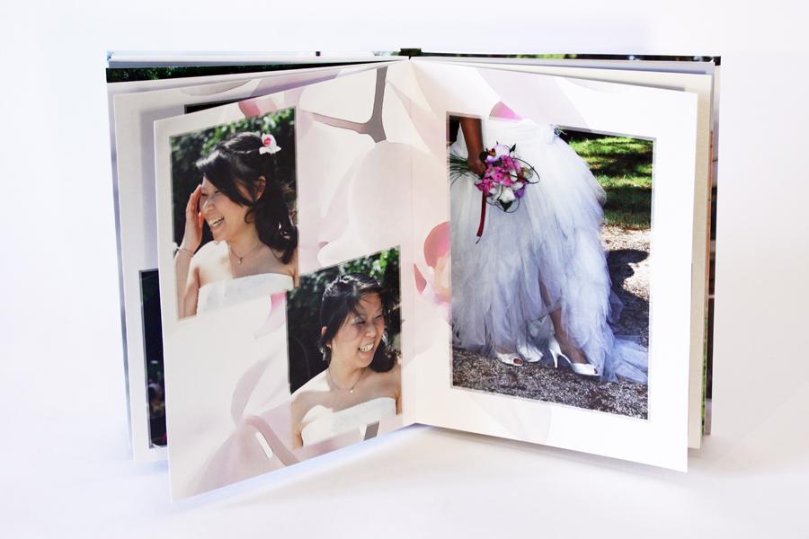 Album de mariage, la mariée
