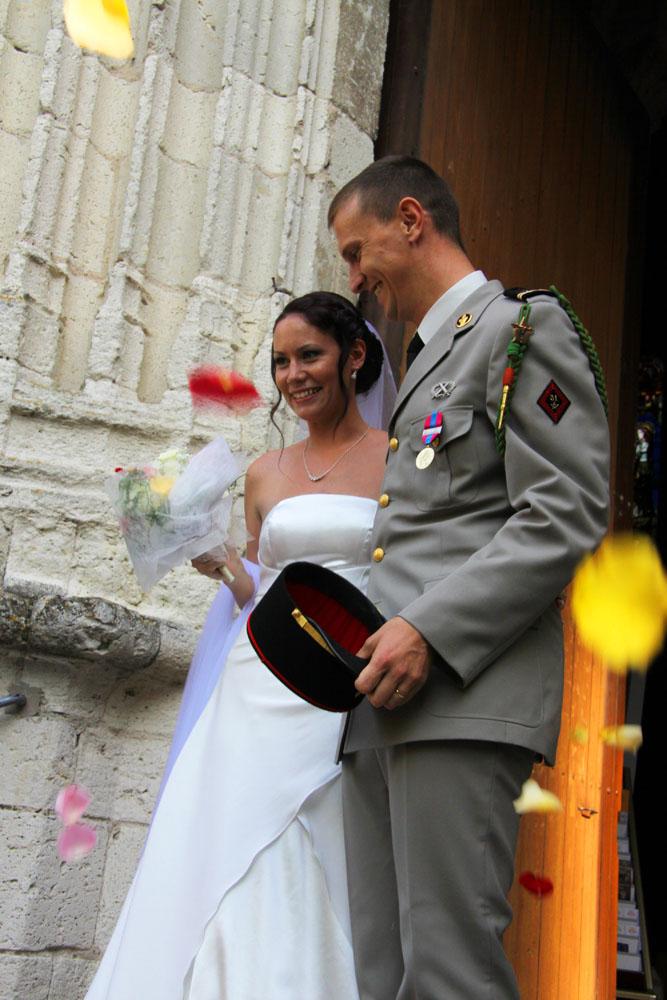Photographe mariage Montauban - La sortie des mariés