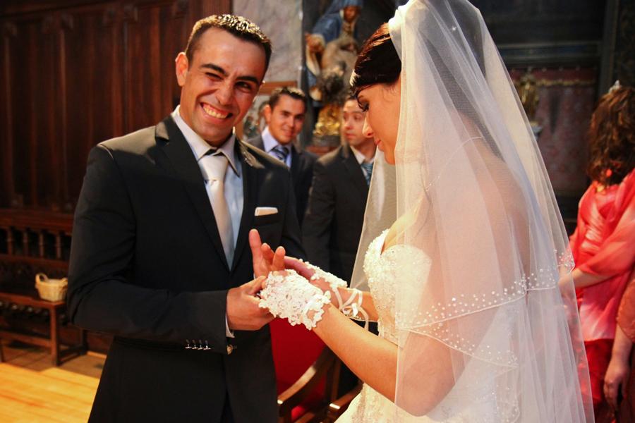 Photographe mariage Muret / Echange des alliances