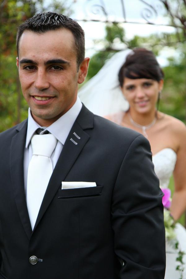Photographe mariage Muret / Derrière