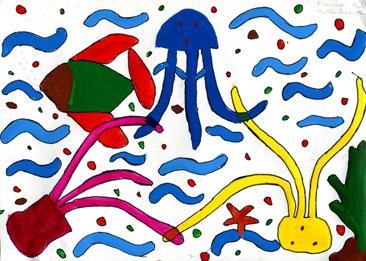 Cours arts plastiques enfant Toulouse - Peinture/3