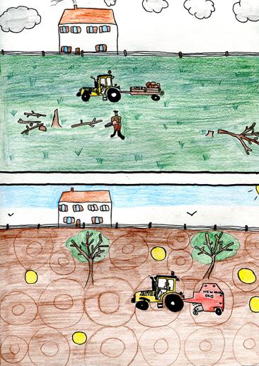Cours arts plastiques enfant Toulouse - Crayon de couleur