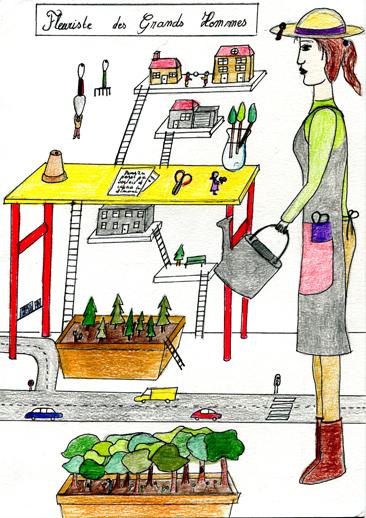 Cours arts plastiques enfant Toulouse - feutre/1