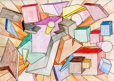 Cours arts plastiques enfant Toulouse - Perspective
