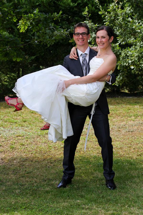 Photographe mariage Fronton / Dans ses bras
