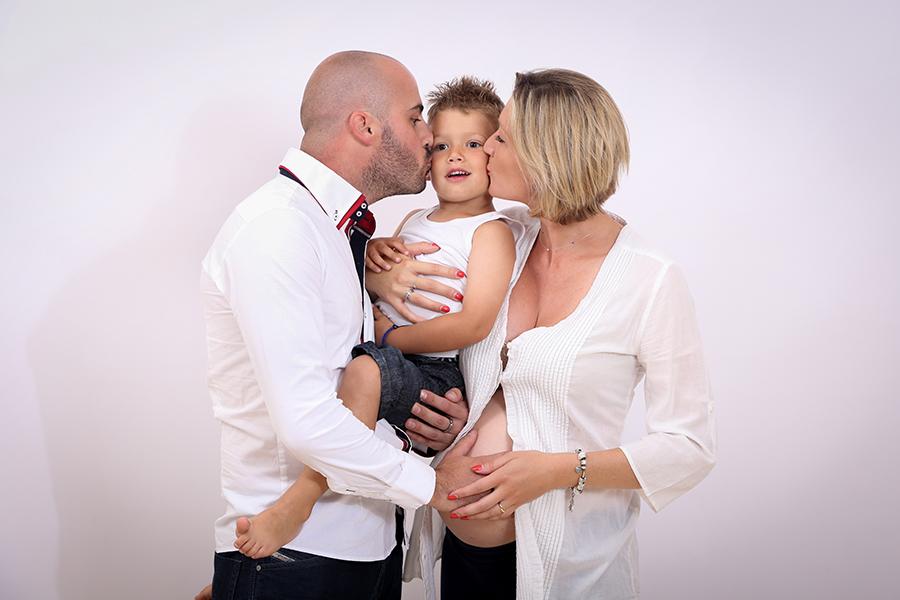 photographe grossesse toulouse en famille
