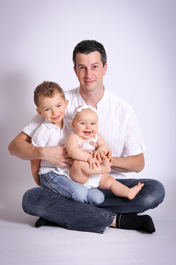 Séance photo famille avec bebe