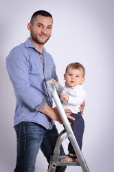 Photo avec papa