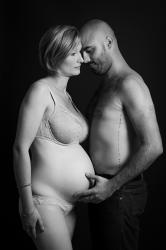 Photographe grossesse toulouse en couple