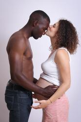 Photos grossesse le baiser